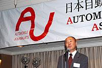 2006年年末懇親会 会長挨拶