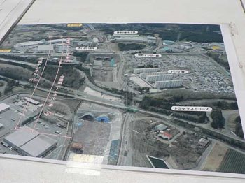 トヨタ 東富士試験場周辺地図
