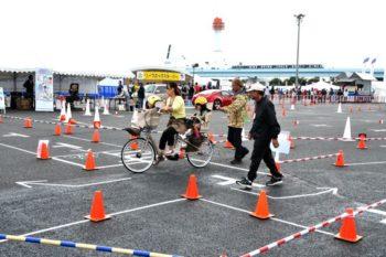 母と子の楽ラク運転講習会 2009年 自転車