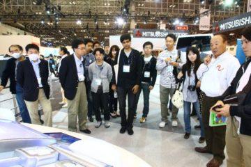 第41回東京モーターショーAJAJガイドツアー ツアー風景