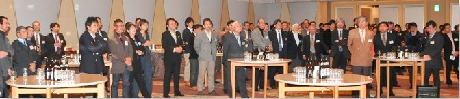 AJAJ年末懇親会2009 風景