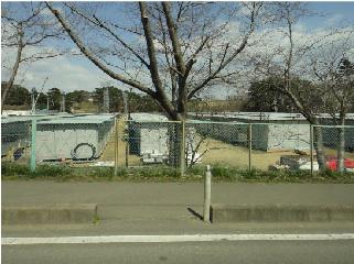 仮設住宅の建設