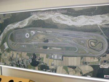 テストコース航空写真