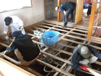 東日本大震災活動 清掃活動