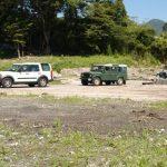 東日本大震災活動 車両
