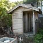 撤去前のトイレ