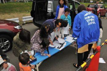 母と子の楽ラク運転講習会 参加者対応