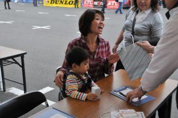 母と子の楽ラク運転講習会 参加親子