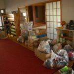 2011・8月衣類&児童本など支援物資