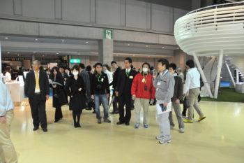 東京モーターショー ガイドツアー風景