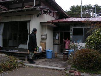 東日本大震災活動 活動風景