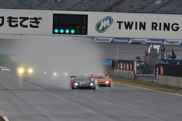 スーパーGT レース風景