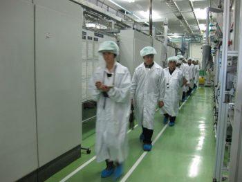 ッシュ東松山工場 見学