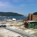 東日本大災害活動 被災地風景