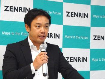 株式会社ゼンリン 高精度空間データベースの取組み説明風景