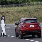 Honda SENSING 勉強会 試乗風景