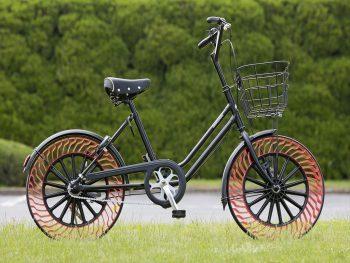 ブリヂストン第5回タイヤ勉強会 エアフリーコンセプト 自転車 実車確認