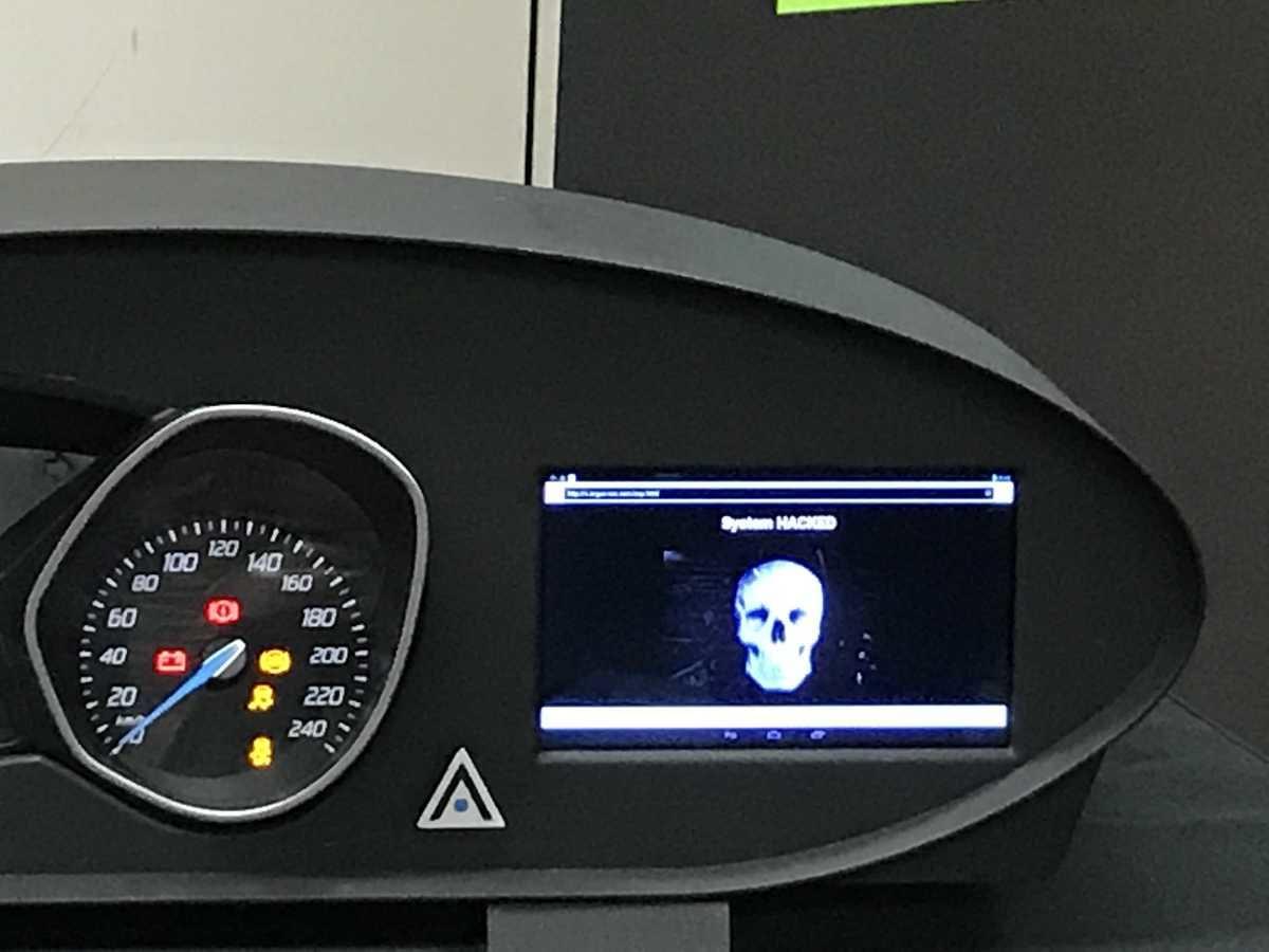 コンチネンタル サイバーセキュリティ―勉強会 展示