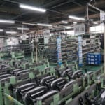 タチエス 工場内部風景